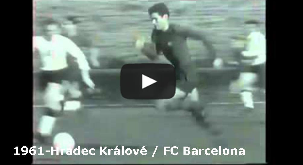Čtvrtfinálová odveta Poháru mistrů evropských zemí 1960/1961 mezi Hradcem Králové a FC Barcelona hraná v Praze 15.3.1961. Zápas skončil 1:1. Postoupila FC Barcelona, která první zápas hraný 8.3.1961 v Barceloně vyhrála 4:0.