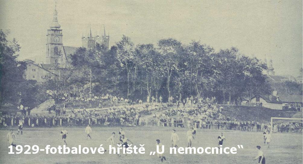 Hřiště u nemocnice 1929