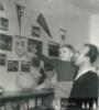 Táta a syn Jirka v roce 1960