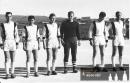 František Silbernágl - 3. zleva - v lednu 1966 na africkém zájezdu