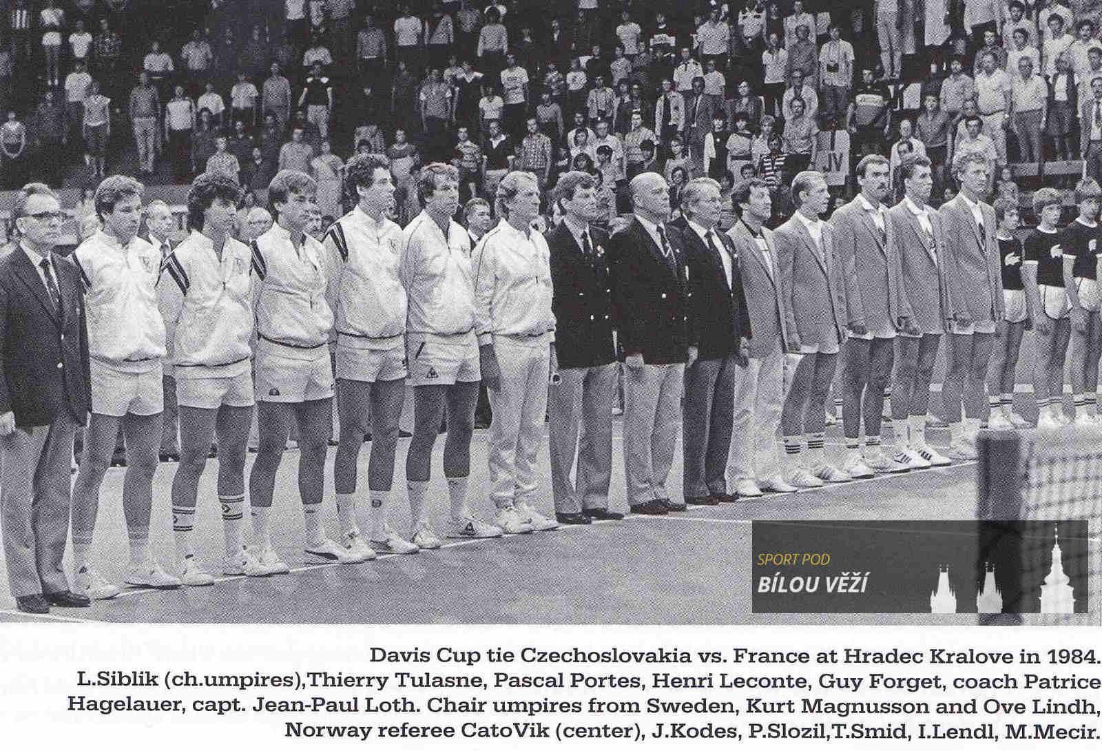 Davis Cup v Hradci Králové
